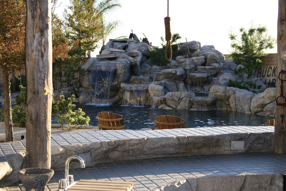 Blue Water Pools and Spas Bars