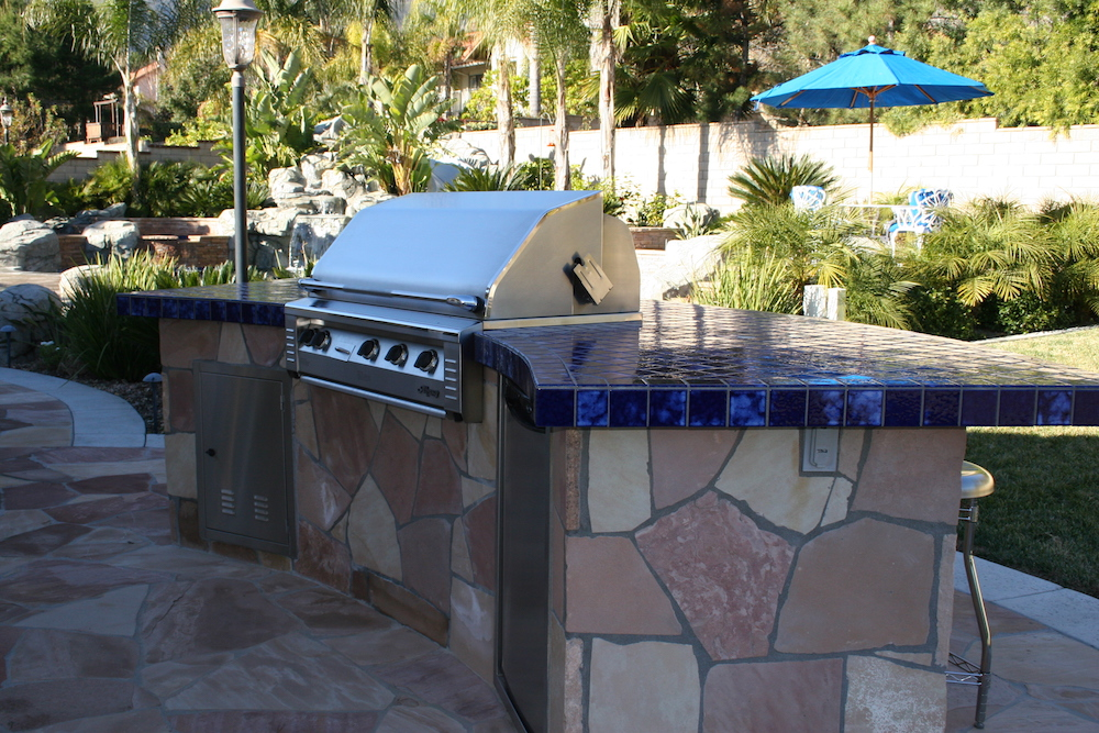 Blue Water Pools and Spas BBQ