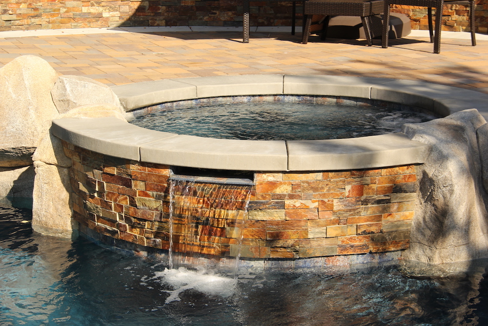 Blue Water Pools and Spas Hardscape