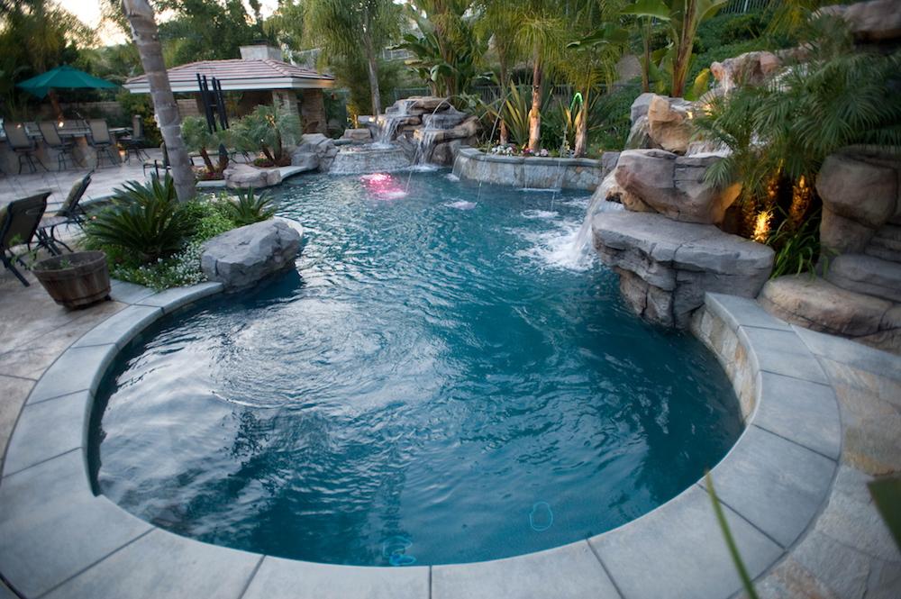 Blue Water Pools and Spas Custom Pool