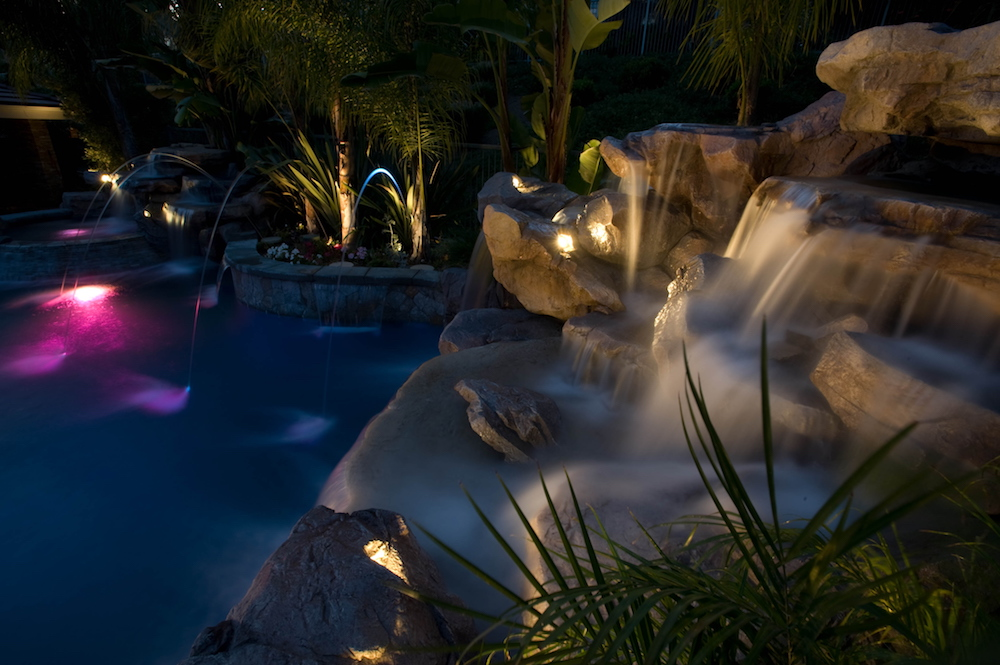 Blue Water Pools and Spas Custom Pool